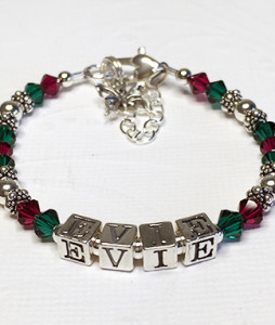 christmasnamebraceletevie